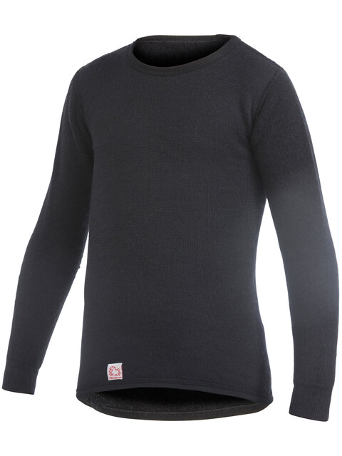 Woolpower 200 Crewneck Kids pirate black